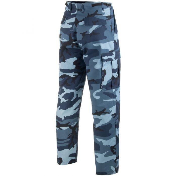 Mil-Tec BDU Ranger Combat Trousers Skyblue