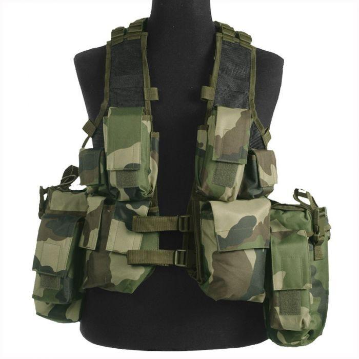 Mil-Tec South African Assault Vest CCE