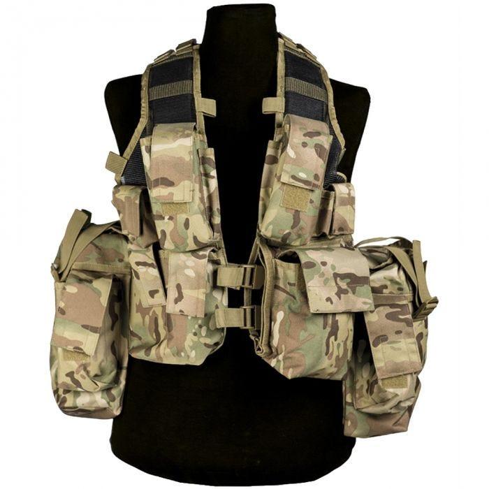 Mil-Tec South African Assault Vest Multitarn
