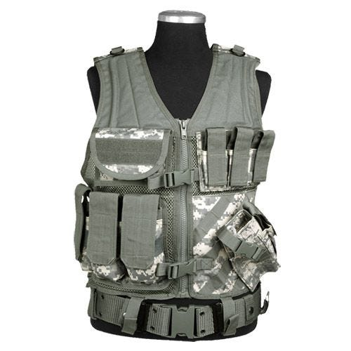 Mil-Tec USMC Tactical Vest ACU Digital