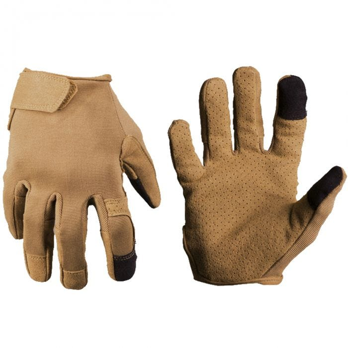 Mil-Tec Combat Touch Gloves Dark Coyote