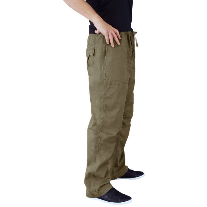 Surplus Athletic Trousers Olive