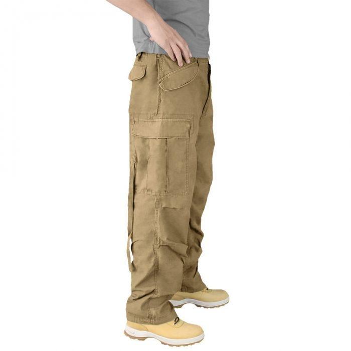 Surplus Vintage Fatigues Trousers Coyote
