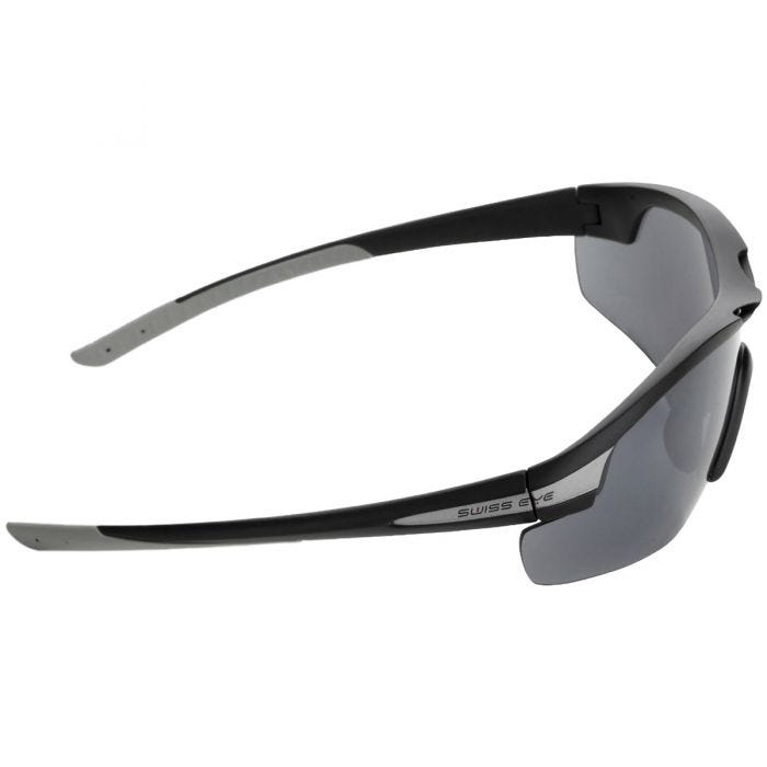 Swiss Eye Sunglasses Novena - 3 Lenses / Black Matt Gray Frame