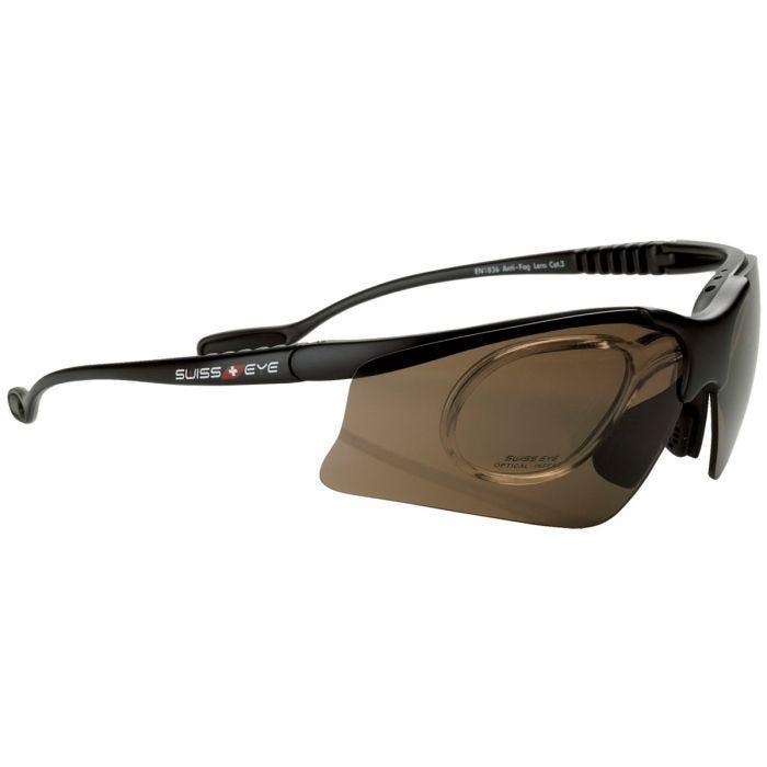 Swiss Eye Stingray V Glasses Black Matt Frame