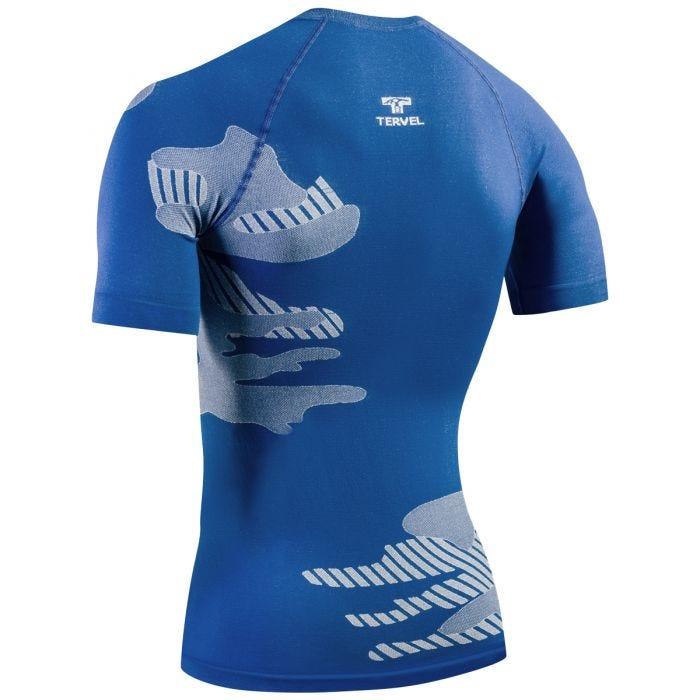 Tervel Optiline Light Shirt Short Sleeve Blue/White