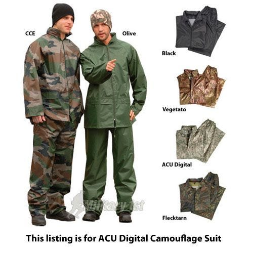 Mil-Tec Waterproof Suit ACU Digital