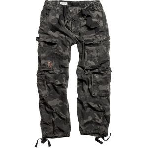 Surplus Airborne Vintage Trousers Black Camo