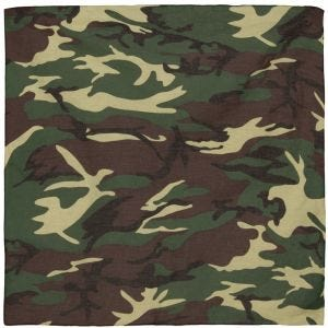 MFH Bandana Cotton Woodland