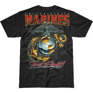 7.62 Design USMC Eagle, Globe & Anchor Battlespace T-Shirt Black