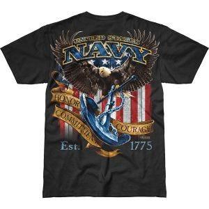 7.62 Design USN Fighting Eagle Battlespace T-Shirt Black