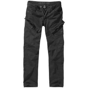 Brandit Adven Slim Fit Trousers Black