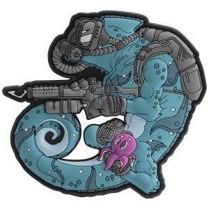Helikon Chameleon Diver Patch Blue/Black