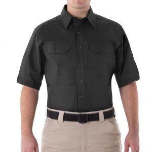 First Tactical Men's V2 Short Sleeve Tactical Shirt Black