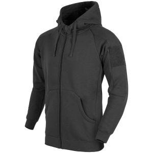 Helikon Urban Tactical Hoodie Lite Full Zip Black