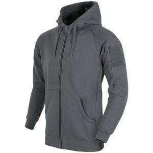 Helikon Urban Tactical Hoodie Lite Full Zip Gray