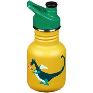 Klean Kanteen Kid Sport 355ml Bottle Sport Cap Dragon Snack