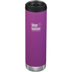 Klean Kanteen TKWide 591ml Insulated Bottle Cafe Cap 2.0 Berry Bright
