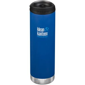 Klean Kanteen TKWide 591ml Insulated Bottle Cafe Cap 2.0 Deep Surf