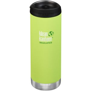 Klean Kanteen TKWide 473ml Insulated Bottle Cafe Cap 2.0 Juicy Pear