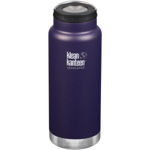 Klean Kanteen TKWide 946ml Insulated Bottle Loop Cap Kalamata