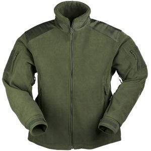 Mil-Tec Delta Fleece Jacket Olive
