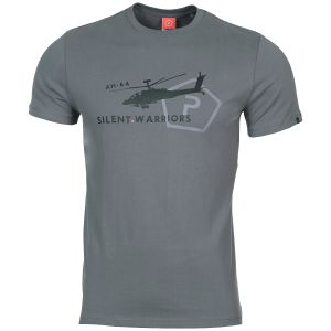 Pentagon Ageron Helicopter T-Shirt Wolf Gray