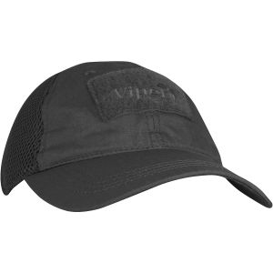 Viper Flexi-Fit Baseball Cap Black