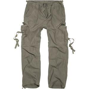 Brandit M-65 Vintage Trousers Olive