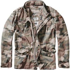 Brandit Britannia Jacket Light Woodland
