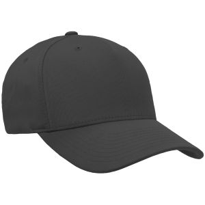 Flexfit 5 Panel Cap Black