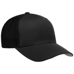 Flexfit Mesh Trucker Cap Black