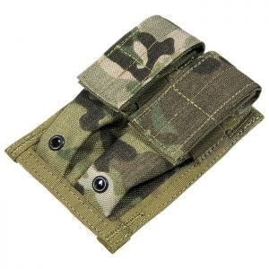 Flyye Double 9mm Magazine Pouch MOLLE MultiCam