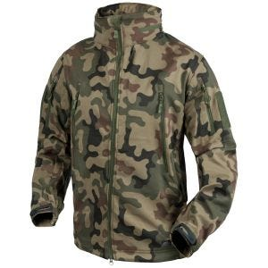 Helikon Gunfighter Soft Shell Jacket Polish Woodland