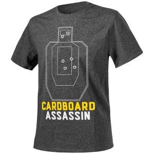Helikon Cardboard Assassin T-shirt Melange Black-Gray