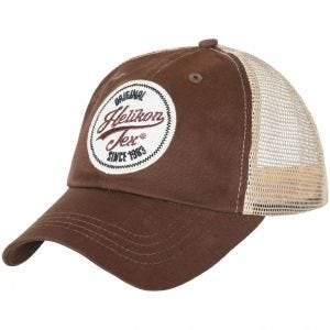 Helikon Trucker Logo Cap Mud Brown