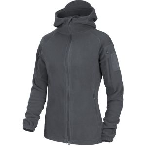 Helikon Womens Cumulus Heavy Fleece Jacket Shadow Gray
