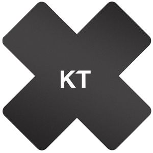 KT Tape Pro-X Synthetic Patch 15 Pack Black