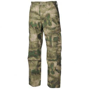 MFH ACU Combat Trousers Ripstop HDT Camo FG
