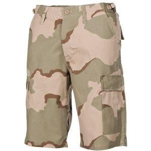 MFH US BDU Bermuda Shorts Ripstop 3-Colour Desert