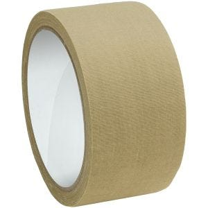 MFH Fabric Tape 5cm x 10m Khaki
