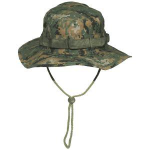 GI Ripstop Bush Hat Digital Woodland