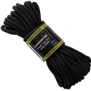 MFH Rope 7mm Black
