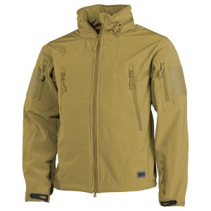 MFH Scorpion Soft Shell Jacket Coyote Tan