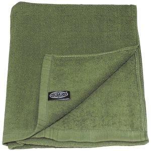 MFH 110x50cm Terry Cloth Towel OD Green