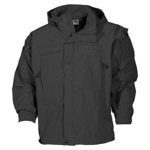 MFH US Soft Shell Jacket Level 5 Black
