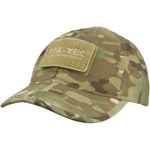 Mil-Tec Foldable Baseball Cap Multitarn