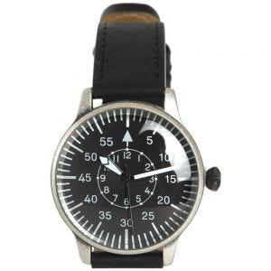 Mil-Tec Pilot Watch Retro Look Black Dial