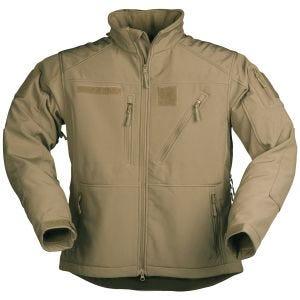 Mil-Tec Softshell Jacket SCU 14 Dark Coyote