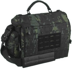Mil-Tec Tactical Paracord Bag Large Multitarn Black